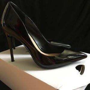 Aldo classic black patent stessy high heels